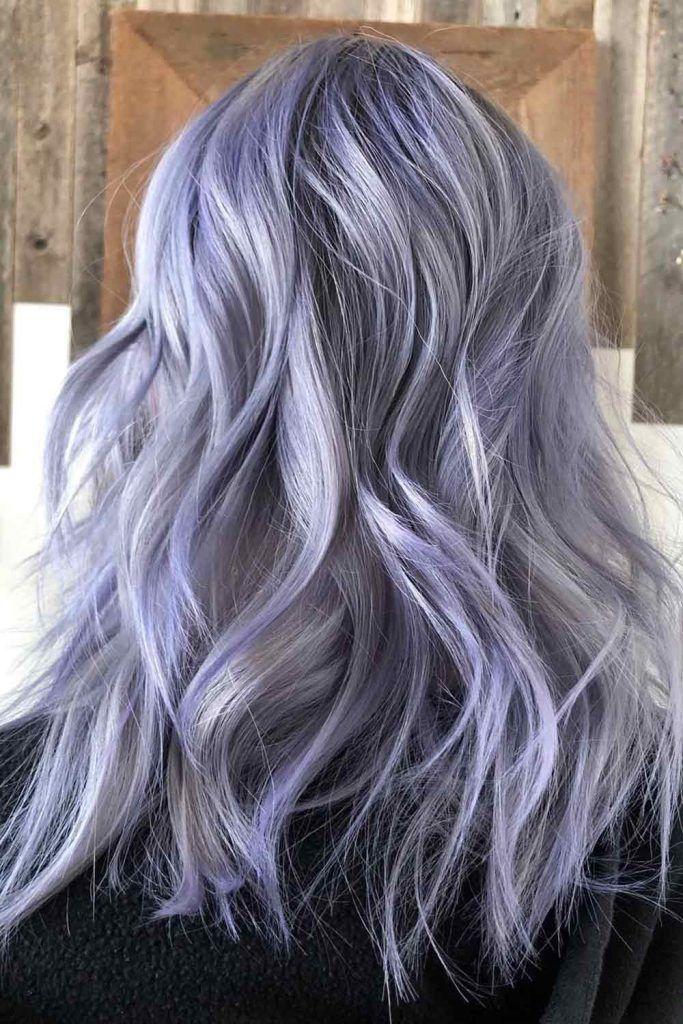 Adorable Silver Lavender Hair