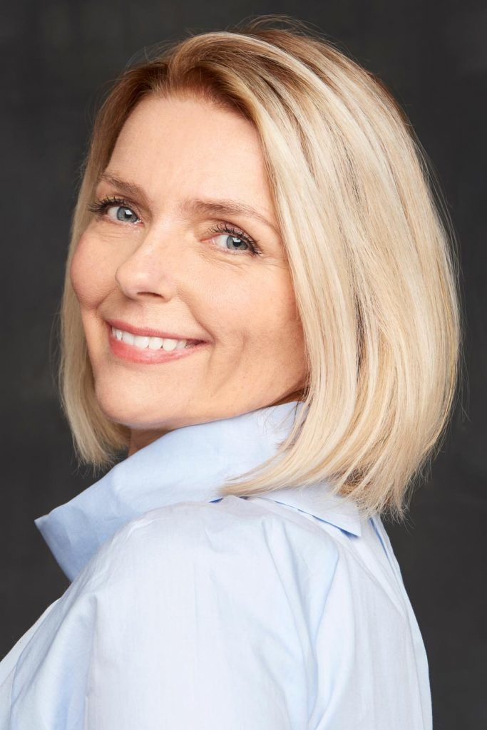 Glamorous Medium Length Haircuts For Women Over 50: Not Too Long, Not Too Short, And Super Modern