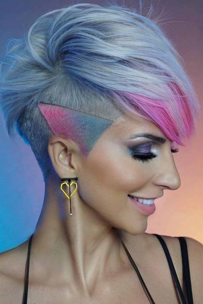 Side-Parted Pixie-Bob