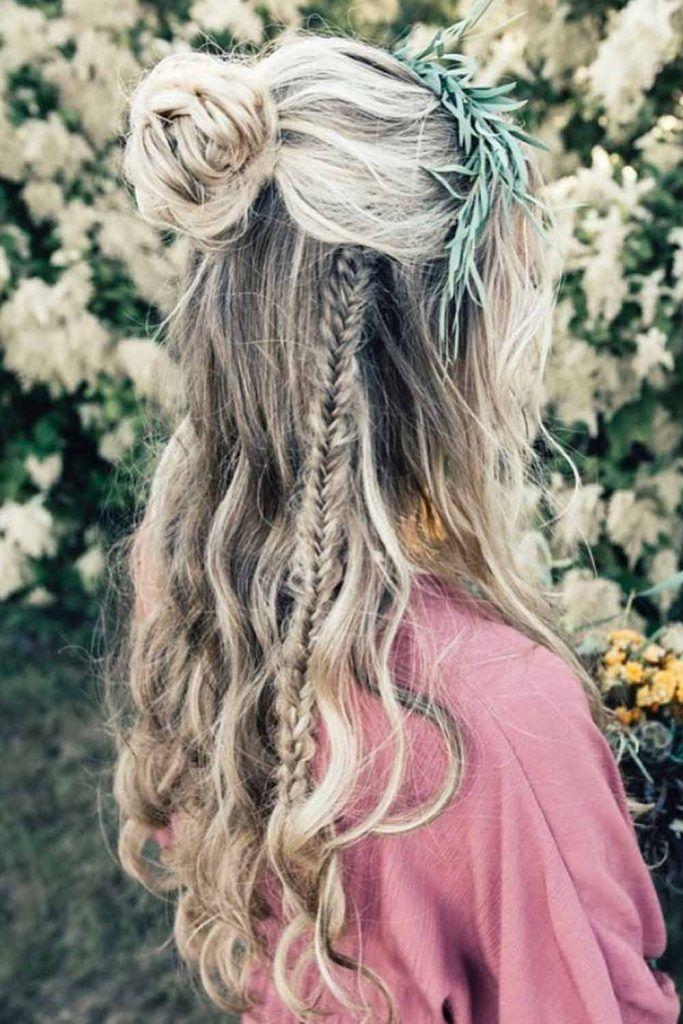 Boho Chic Braid Long Hairstyles