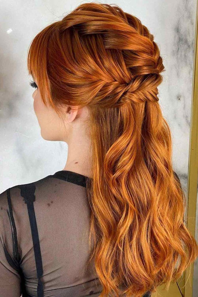 Braided Ponytail In Honor Of Game Of Thrones
