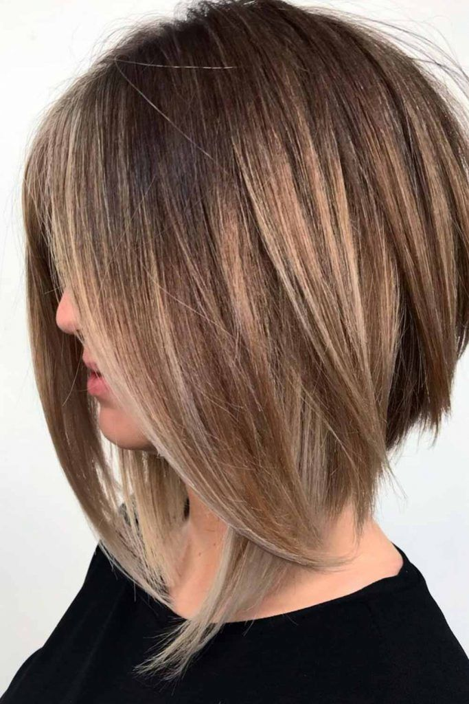 Amazing A-line Bob For Straight Hair