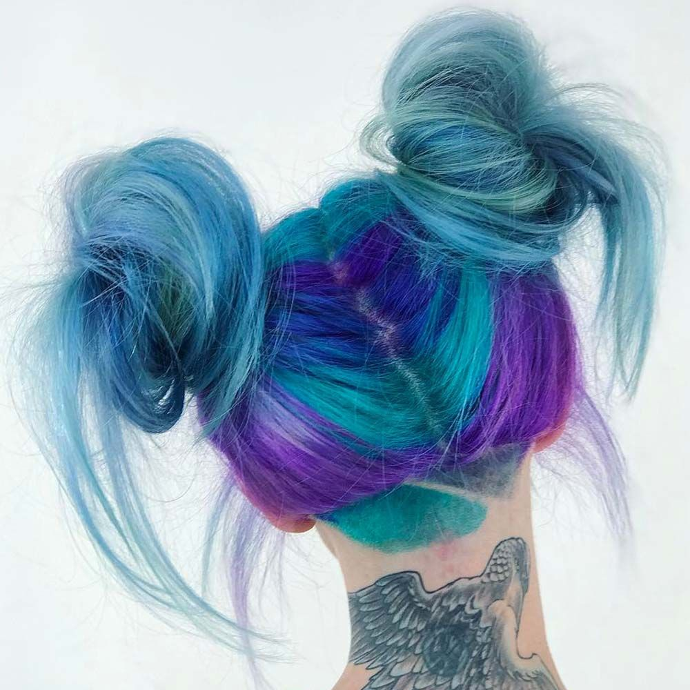 Cool Space Buns to Try