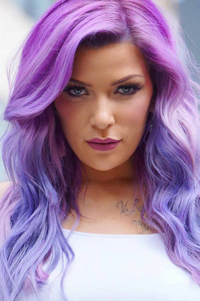 Saturated Lavender Hair