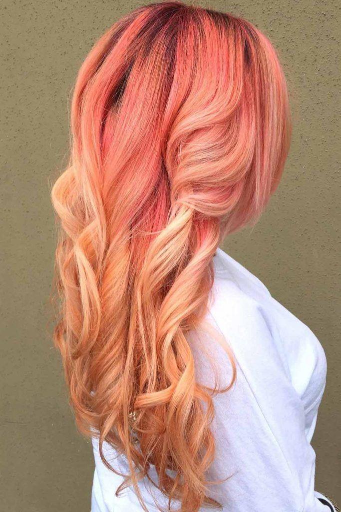 Soft Strawberry Blonde Balayage