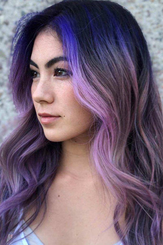 Lavender Purple Ends