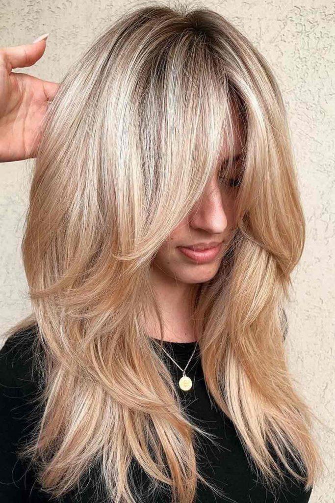 Naked Blonde Hair