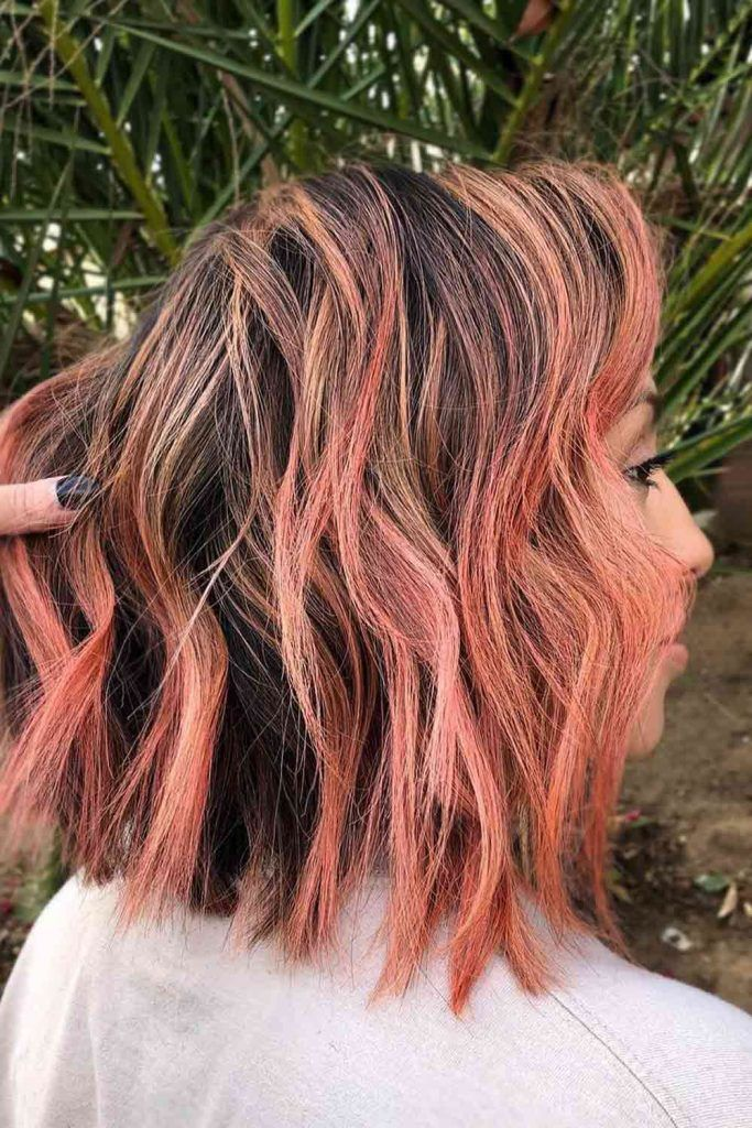 Chocolate, Chestnut, Red Colors For Long Hair