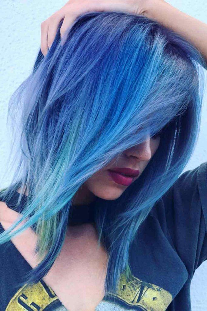 Byzantine Blue Hair
