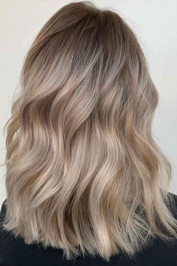 Ashy Bronde Hair