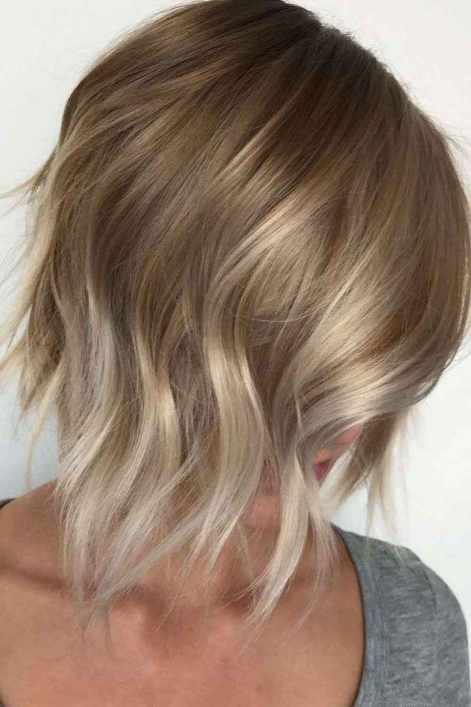 Naturally Lighter Bronde Hair