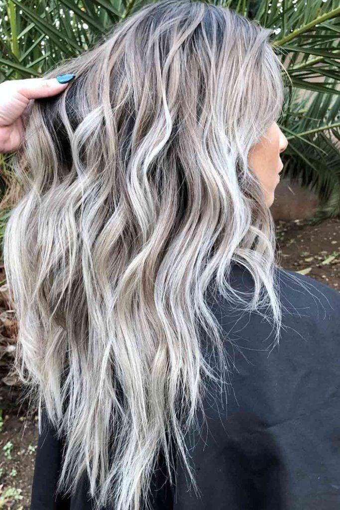 Messy Dark Blonde Hair