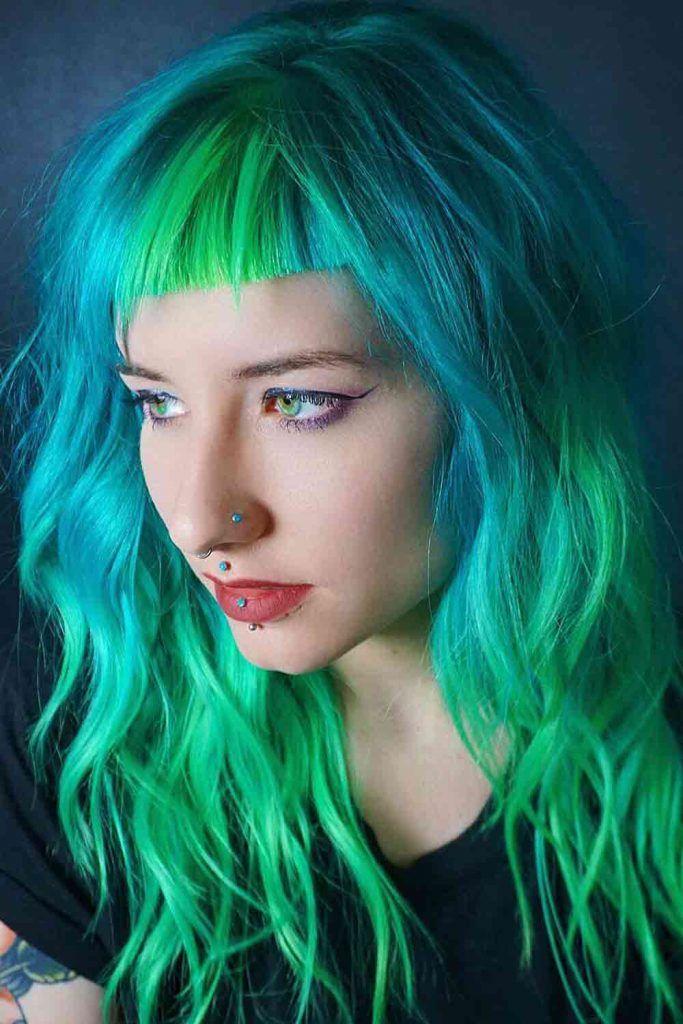 Blue/Green Color Melt