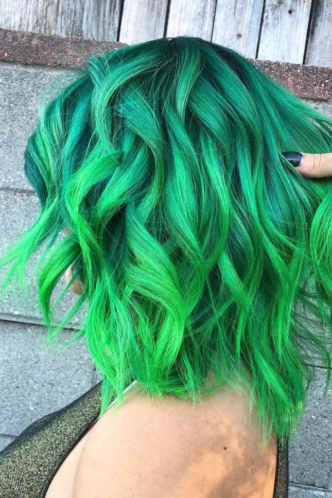Lime Green Highlights