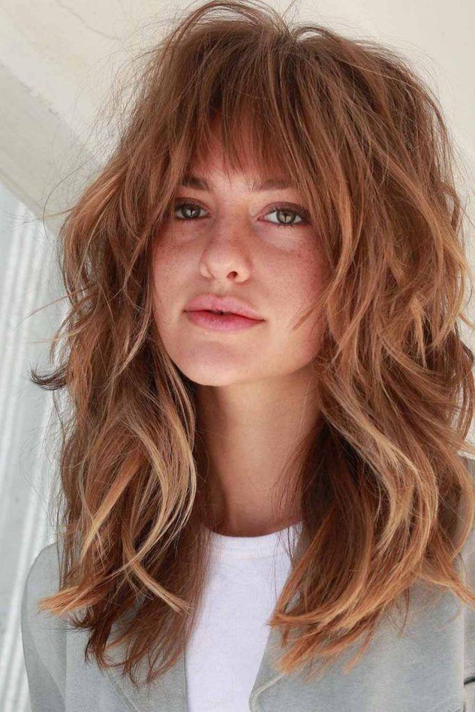 Gentle Light Auburn Hair