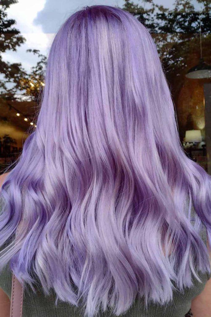 Lavender Purple Hair Color