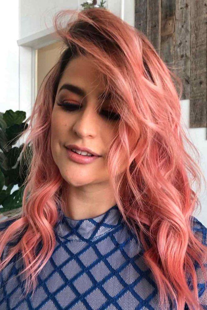 Radiant Rose Hair