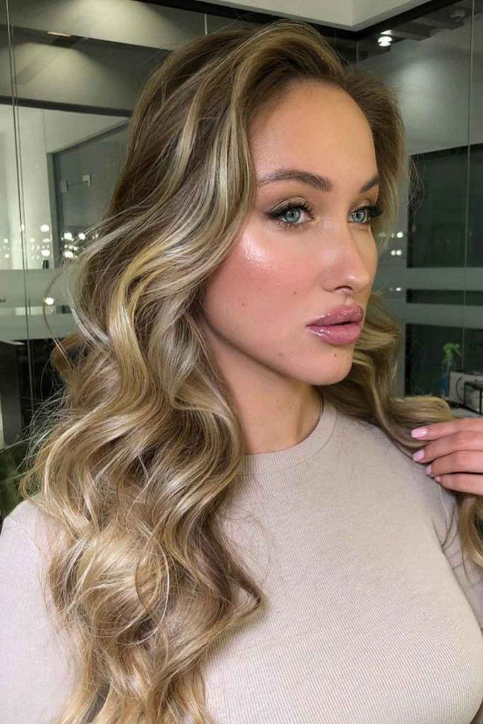 Dirty Blonde With Shadow Roots