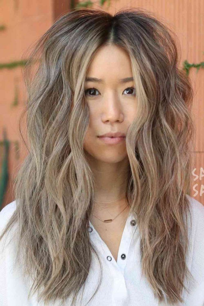 Long And Lean Hairstyles For Round Faces